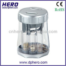Portable Plastic Digital coin counter and sorter