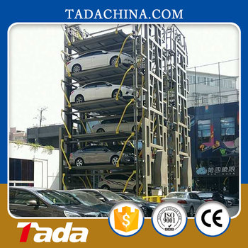 2015 vertical rotary parking system/8 cars rotary parking system/parking equipment solution