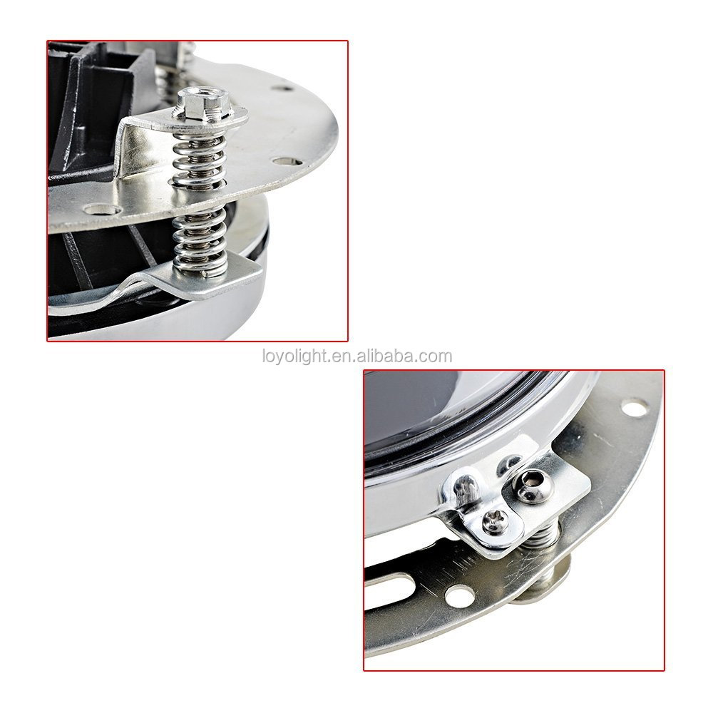 "Good quality 7"" round motorcycle bracket 7 inch led headlight bracket for Jeep"