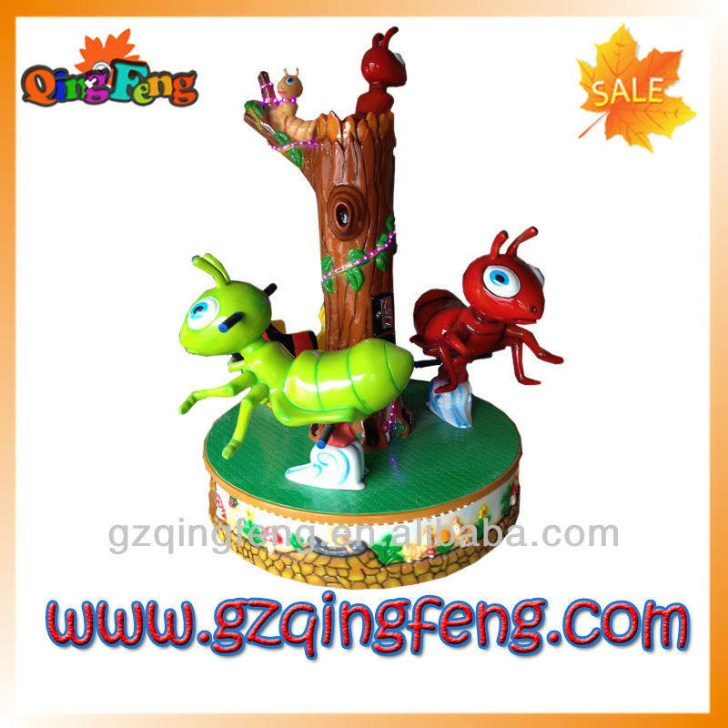 rotating series--Swing bee--forest plane park ride toy carousel