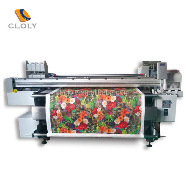 Newest Digital high speed width textile direct dye sublimation/reactive belt 5113 printer for polyester cotton silk wool etc.