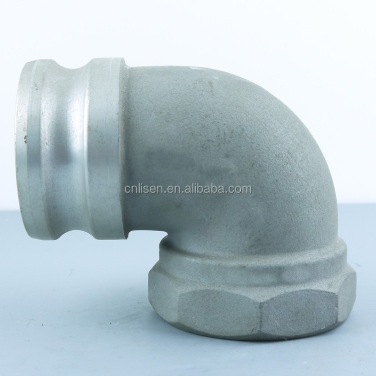Aluminium elbow pipe and fitting