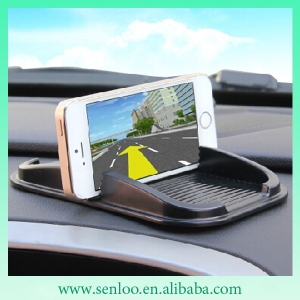 Sticky Pad Multifunction Universal Anti-Slip Pu gel Car Cellphone Holder
