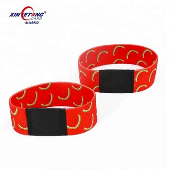 High Quality RFID Wristband for Events, Waterproof RFID Wristbands nfc 213/215/216