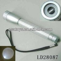 Adjustable focal 1 w led flashlight with LD28087