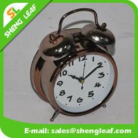 Fashion gift silent clock mechanism beautiful alarm clock