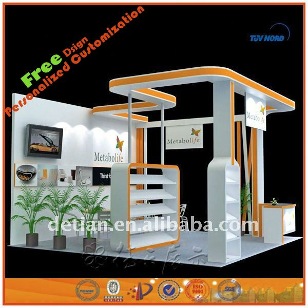 portable exhibition booth exhibition booth stall design in china trade show stand for international trade fair