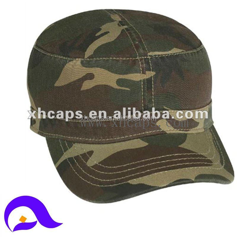 custom flat top military cap