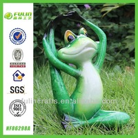 Garden Resin Yoga Frog Decor