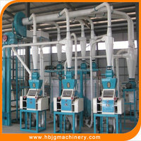 industrial flour mill -automatic machine for wheat/corn/maize flour miling