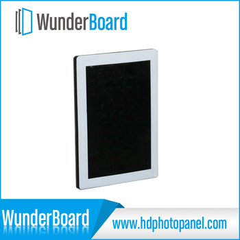 art hanging system for WunderBoard HD metal panel