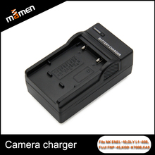 Fits For Nikon Digital Camera Battery Charger US Wall Charger Portable EN-EL10 L1-40B FNP-45 KOD-K7006 Professional Equipment