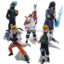 naruto toy figure;pvc vinyl toy;pvc cartoon toy