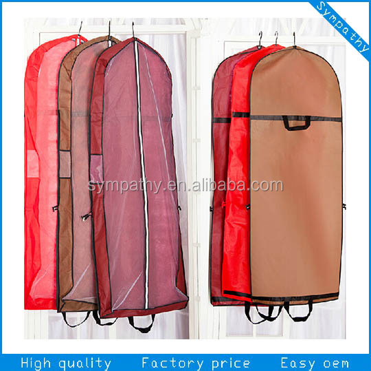 Reusable high quality non woven suit cover