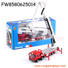 New price 1:50 diecast aerial antique fire engine model toy for sale FW8580625014