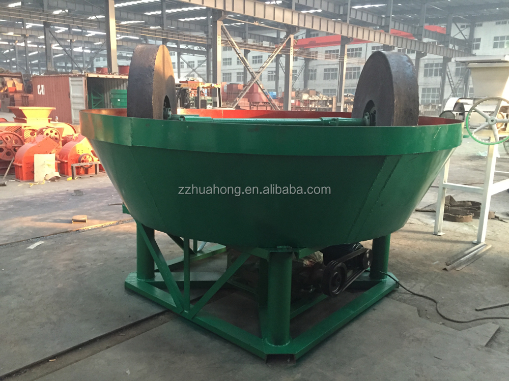 China wet pan mill for gold,two roller mill,wet panning for gold