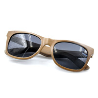 Wholesale wood frame vintage sunglasses elegant gentle sun glasses mens