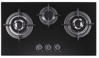 Twist NGB3 brass burner gas stove/gas hobtop double burner