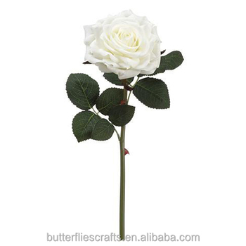 Nearly Natural artificial rose flower for wedding bouquet