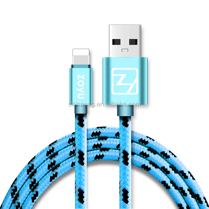 Wholesale and Retail USB Cable for Apple Device, USB Cable for Apple iPhone, USB Cable for Apple iPad (1Meter)