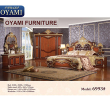 Good quality wood furniture factory price bedroom sets