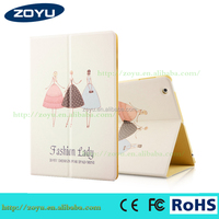 Cover Cartoon Pattern Leather Case for apple ipad 4