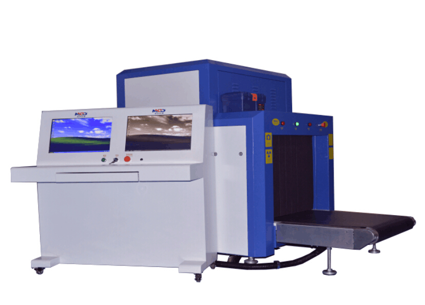 Real time Large X-Ray baggage scanner MCD-10080