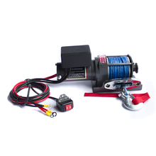 high speed portable atv capstan small electric winch with engine 12 volt