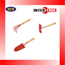 Garden Gardening Hand Rake / Hoe/ Shovel / Fork 3pc Set Digging Cleaning