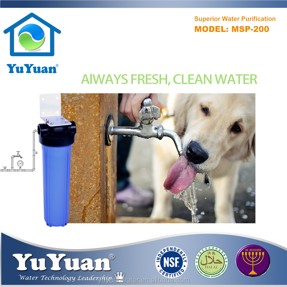 Halal Certification Coconut Shell Charcoal High Flow Pet Dringing Water Filter Machine