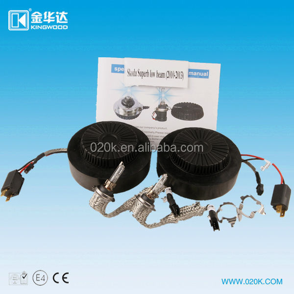 Hid xenon ballast kit for Superb low beam(2010-2013)