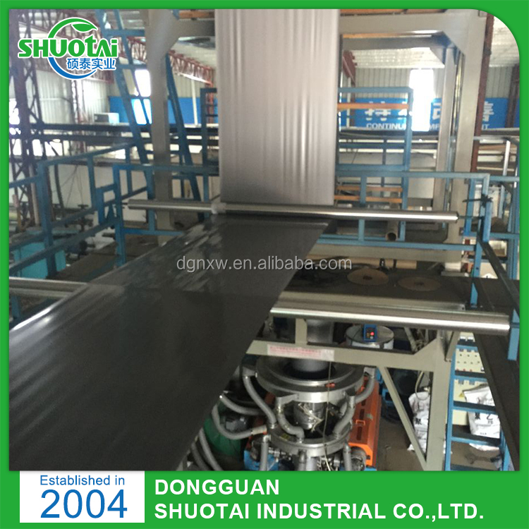 CE,ISO 9001,SGS Approval 200 Micron Black And Silver Double Color Plastic Mulch Film