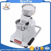 Hot sale automatic manual stainless steel hamburger patty press making machine