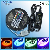 Shenzhen flexible led strip AC110V 220V rgb 5050 smd waterproof new design factory price addressable rgb led strip