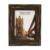 cheap classic style MDF wood glass mirror 5x7 inch wood photo frames with writing photo picture for funeral decoration