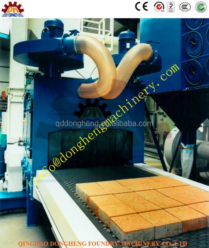 ZJ900 model Marble/Stone/Pavement Shot Blasting Machine