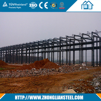 Fabrication Steel Structure Warehouse Project