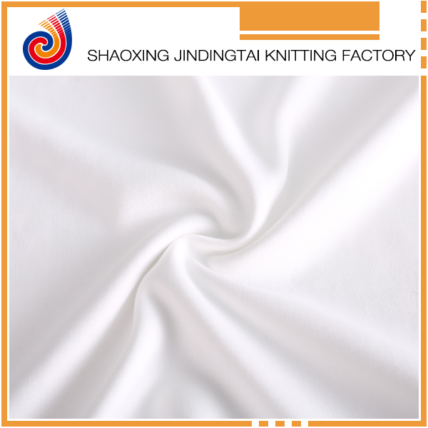 Wholesale silky fine plain knitting polyester fabric for underwear