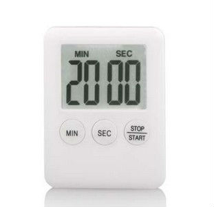 Thin body with Easy read large LCD magnet digital countdown timer