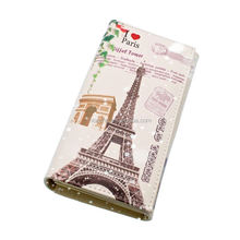 Best selling products gift purse wallet with print USA and UK building