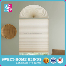 Cheap Arch Pleated Fabric Window Shade
