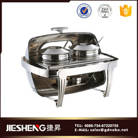 Camping cookware food warmer chafer stainless chafing dish parts