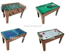 4 in 1 with Free Accessory of all games MDF Multi Game Table