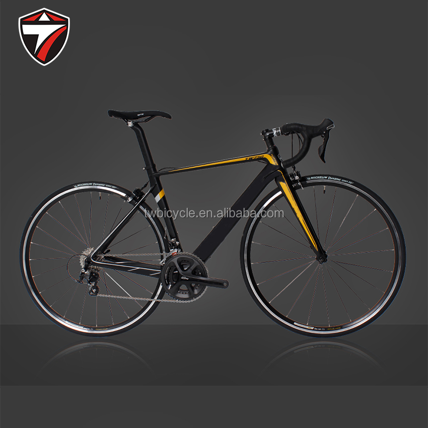 22 speed Carbon fiber fork road bicycle for racing bike 700c wheelset size