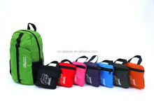 Whole Sale 8Colors Ultralight Waterproof Nylon Outdoor Sports Foldable Backpack Student Shoulder Bag Travel Knapsack