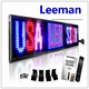 full color indoor bluetooth smart device 12v led car message moving scrolling sign display