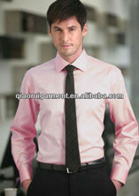 2013 Latest design 100%Cotton High quality Dress/Formal long sleeve shirt for men