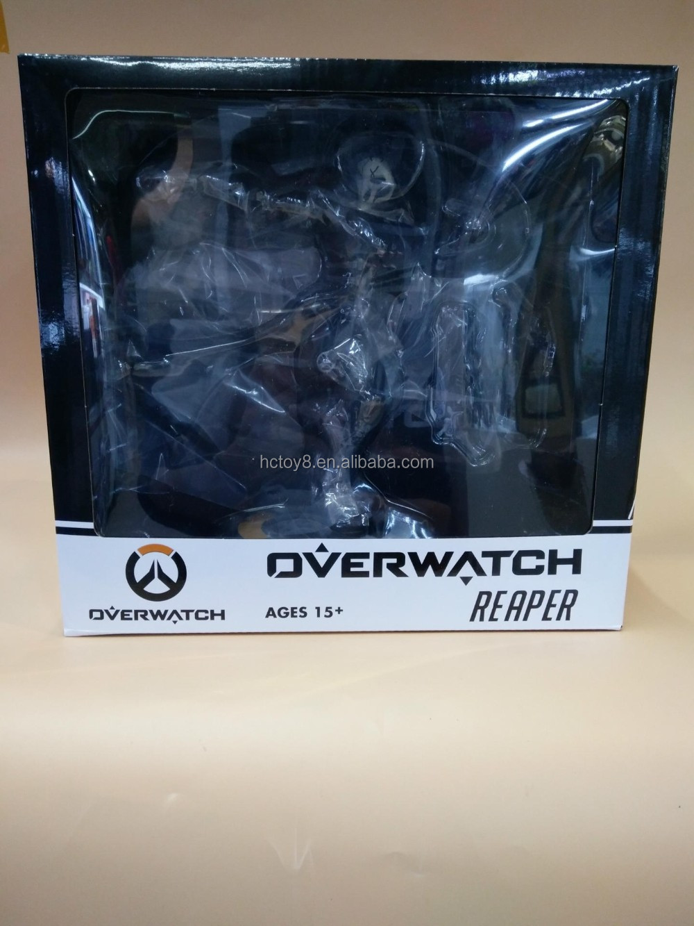 Gzltf OverwatchBlack Reaperi PVC Action Figure