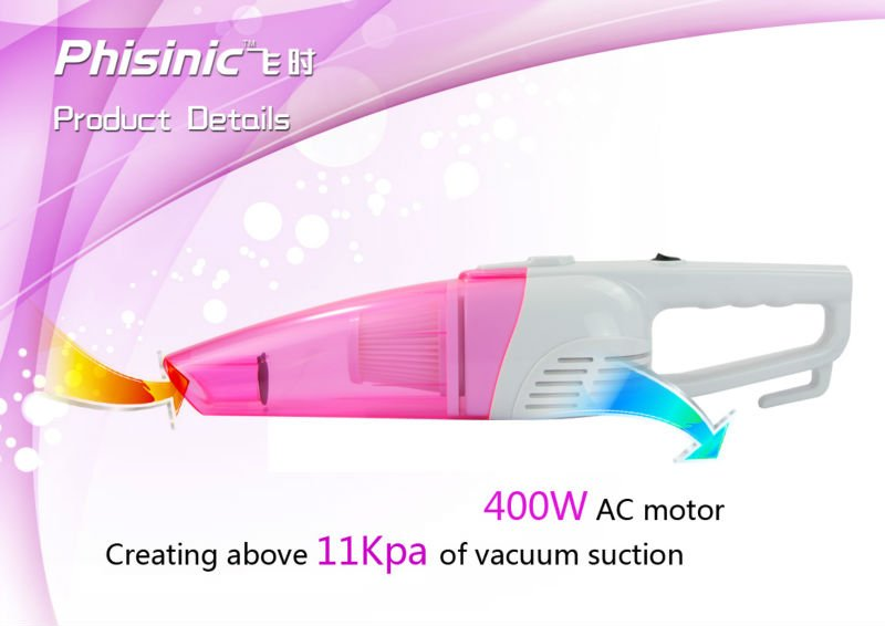 400W High Performance Handy Vacuum Cleaner Hand Stick 2 in 1 Vacuum Cleaner