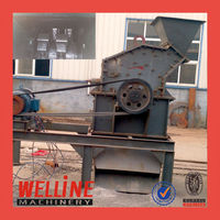 Top quality Zhengzhou WELLINE PC400*300 hammer mill crusher
